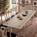 Extensible rectangular table