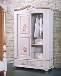 Art. 855 Wardrobe with 2 sliding doors L.140  P.63  H.210