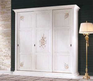 Art. 878 Wardrobe with 3 sliding doors L.295  P.67  H.254