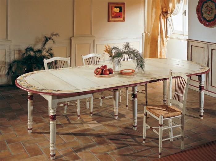 обеденный стол в стиле кантри фото