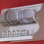 Plate rack unit