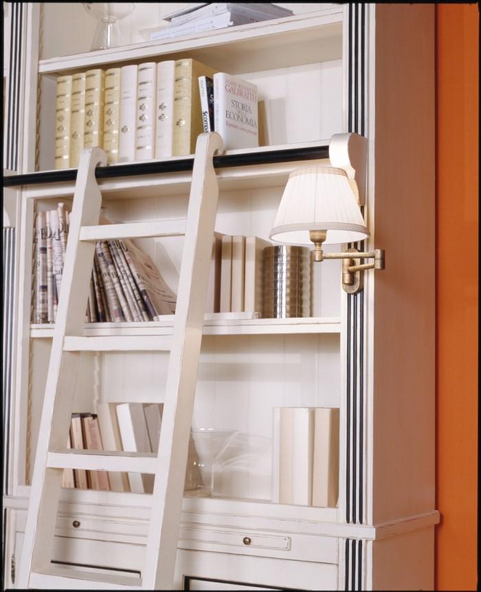 I classici rivisitati collezione gialla mobili veneti - Libreria a scaletta ...