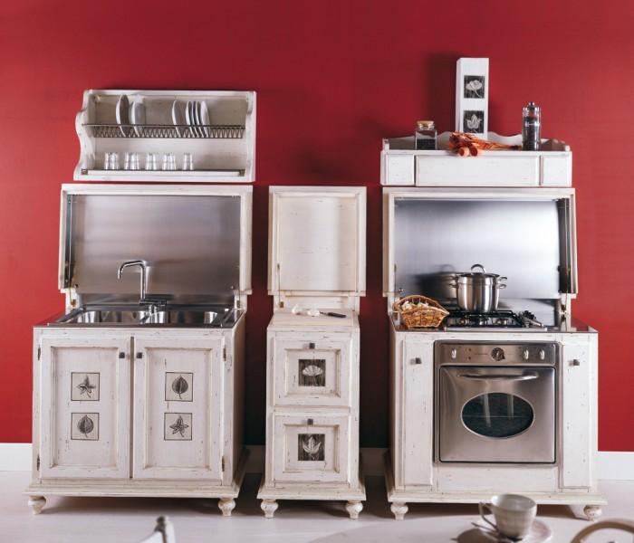 I classici rivisitati cucina mobili veneti for Moduli cucina