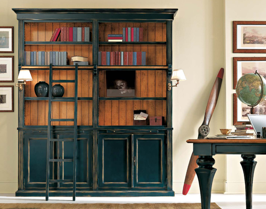 Nuova collezione zona giorno mobili veneti - Libreria a scaletta ...